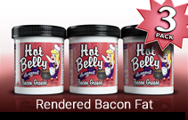 Hot Belly Bacon Grease 3-Pack